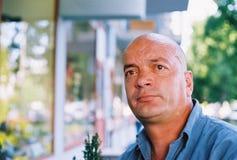 Solido dell'uomo come roccia Fotografia Stock Libera da Diritti