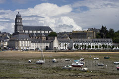 Solidor Bay Saint Malo Stock Photo