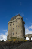 Solidor tower, Saint Malo, France Stock Photo