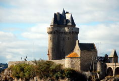 Solidor Tower in Saint-Malo Stock Photography