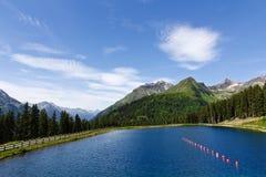 Solig Alps Lake Arkivbild