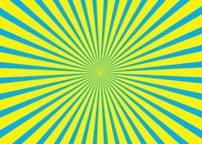 solig bakgrund Modell för resningsol Illustration för vektorbandabstrakt begrepp sunburst Royaltyfri Bild