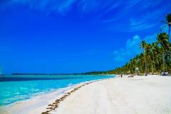 Solig dag i Punta Cana arkivfoto