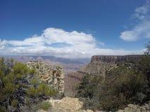 Solig dag på Grand Canyon royaltyfri bild
