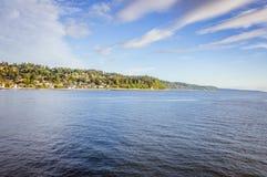 Solig dag på havet Royaltyfria Bilder