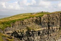 solig ireland för dag för clare klippor ståndsmässig moher Fotografering för Bildbyråer