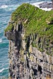 solig ireland för dag för clare klippor ståndsmässig moher Royaltyfri Fotografi