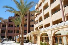 solig palacio för dagel-hotell royaltyfria foton