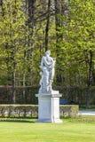 solig staty för schloss för slott för daggermany munich nymphenburg Royaltyfri Fotografi