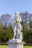 solig staty för schloss för slott för daggermany munich nymphenburg Arkivfoton