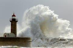 Solig storm Royaltyfri Fotografi