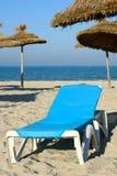 solig strand fotografering för bildbyråer