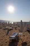 Solig strand, Bulgarien Royaltyfria Foton