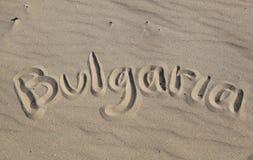 Solig strand, Bulgarien Fotografering för Bildbyråer