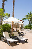 solig stranddag Royaltyfria Bilder