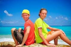 soliga cancun Fotografering för Bildbyråer