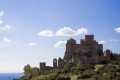 soligt slott Arkivbild