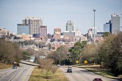 Soligt väder i columbia South Carolina Arkivbilder
