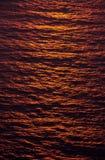 soligt vatten Fotografering för Bildbyråer