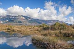 Solila,特别自然保护 黑山 库存图片