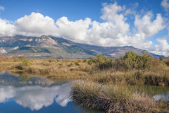 Solila, speciaal natuurreservaat montenegro Stock Afbeelding