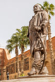 Soliman巴夏Al Fransawi雕象在开罗军事博物馆 库存照片