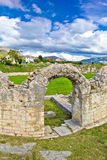 Solin ancient roman amphitheater ruins Royalty Free Stock Photo