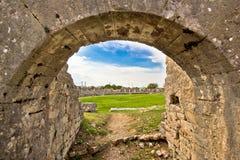 Solin antycznej areny stare ruiny Obraz Stock