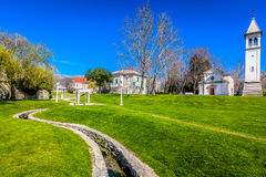 Solin town in Croatia, Europe. Royalty Free Stock Photography