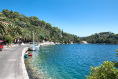 Soline bay, national park Mljet Stock Image