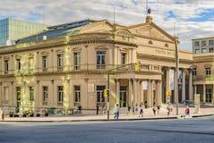Solis剧院外视图,蒙得维的亚,乌拉圭 库存图片