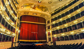 Solis Theater, Montevideo, Uruguay. Interior of the Solis Theater in Montevideo, Uruguay stock photo