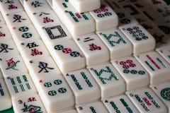 Solitário de Mahjong fotografia de stock royalty free