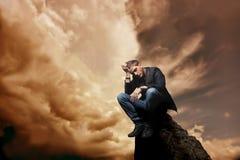 Solitaire Image libre de droits