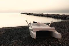 Solitaire boot Stock Afbeelding