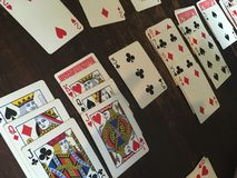Solitaire Royalty Free Stock Photos