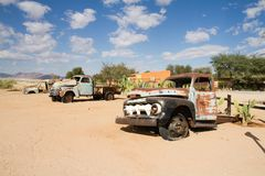 Solitaire Namibia Royaltyfri Bild