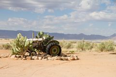 Solitaire, Namibia Lizenzfreies Stockbild