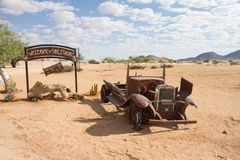 Solitaire, Namibie Photos stock