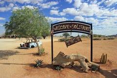 Solitaire, Namibie Photos libres de droits