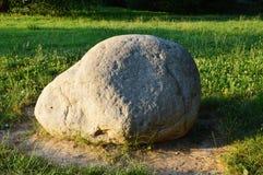 Solitaire steen Stock Fotografie