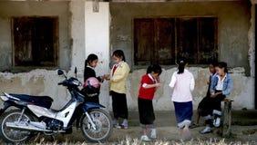 Solitamente stile di vita nel Laos Immagine Stock Libera da Diritti