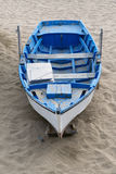 Solitary boat Stock Image