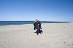 Solitary businessman Stock Photos