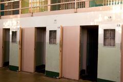 Solitary Confinement at Alcatraz Royalty Free Stock Photos