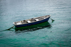Solitary Fishing Boat Stock Image