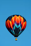 Solitary Hot Air Balloon Stock Image