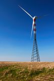 Solitary Wind Turbine Royalty Free Stock Images