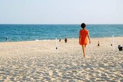 Solitude à la plage photos libres de droits