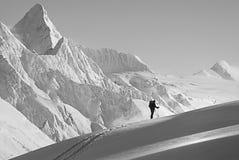 Mountaineering royalty free stock photos